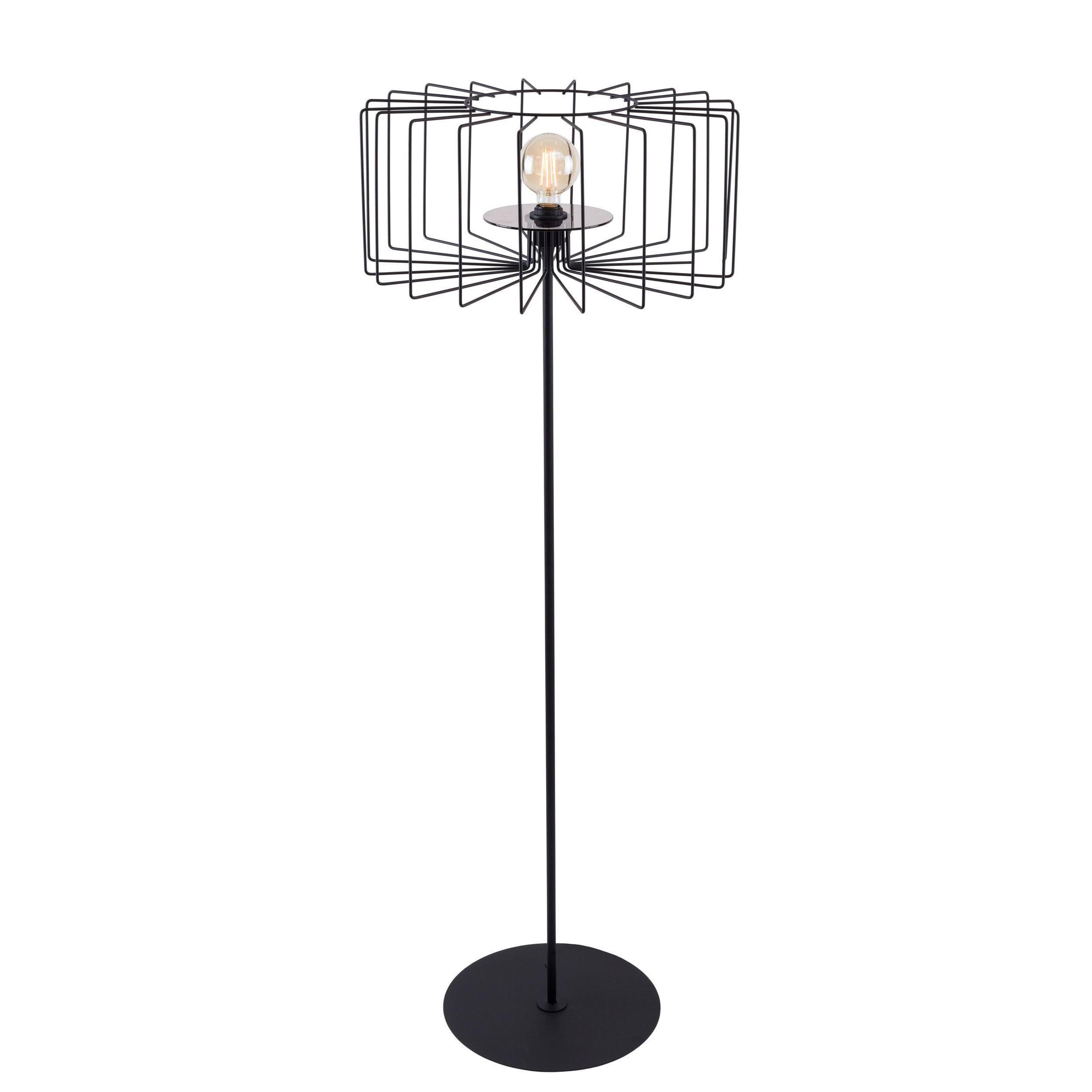 Lampa podłogowa Aldex Ramos I Czarny Mat 1009A1