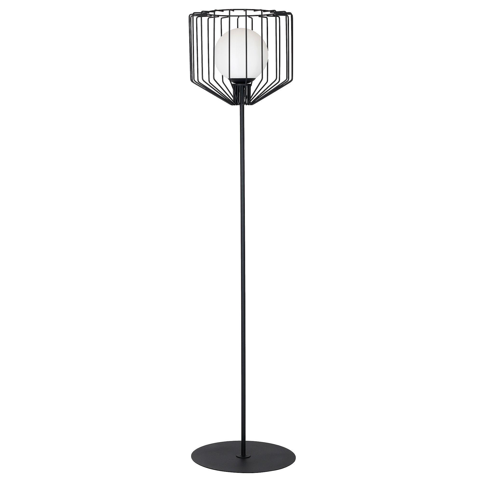 Lampa podłogowa Aldex Ramos II Czarny Mat 1010A1
