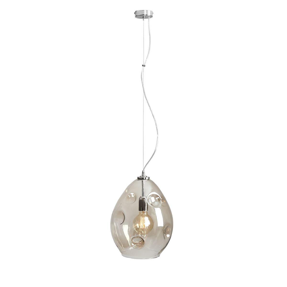 Lampa wisząca Aldex x1 Almeria Duży Dymiony 1032G/L