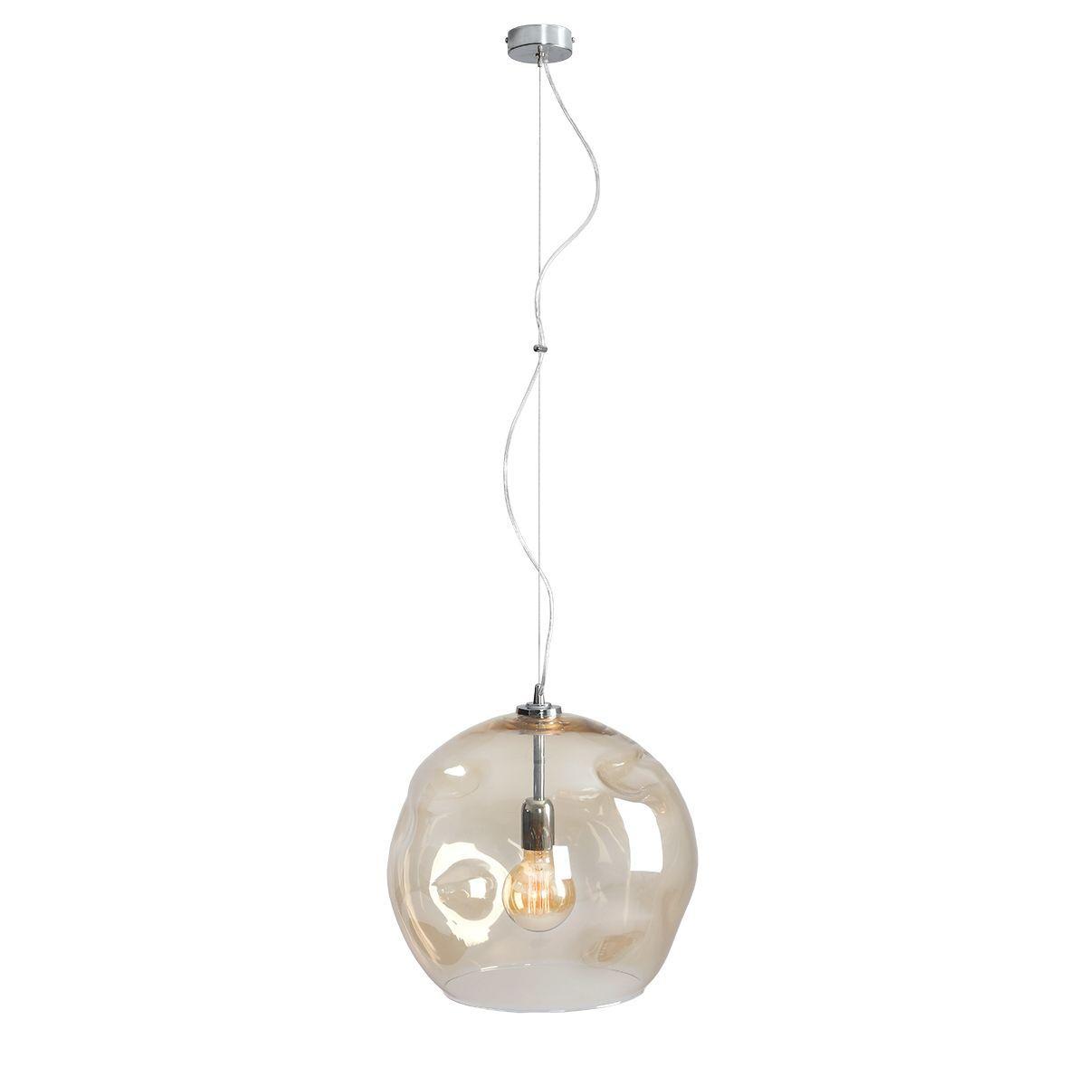 Lampa wisząca Aldex x1 Amalfi 40 cm Miodowy 1034G/L