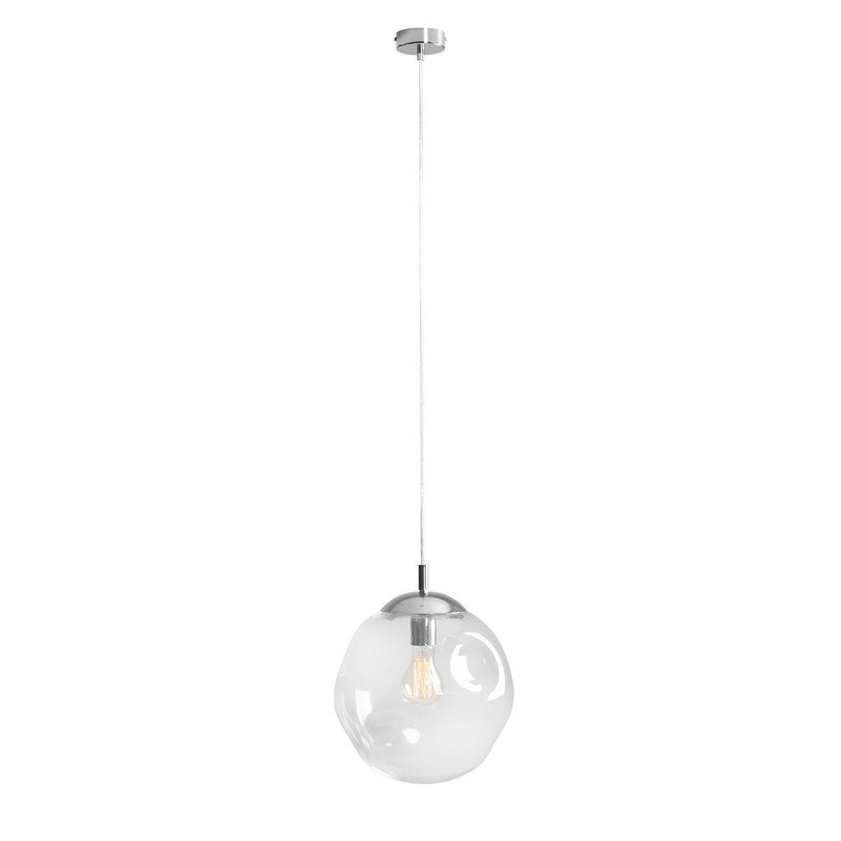 Lampa wisząca Aldex x1 Amalfi 30 cm Transparentny 1035G/M