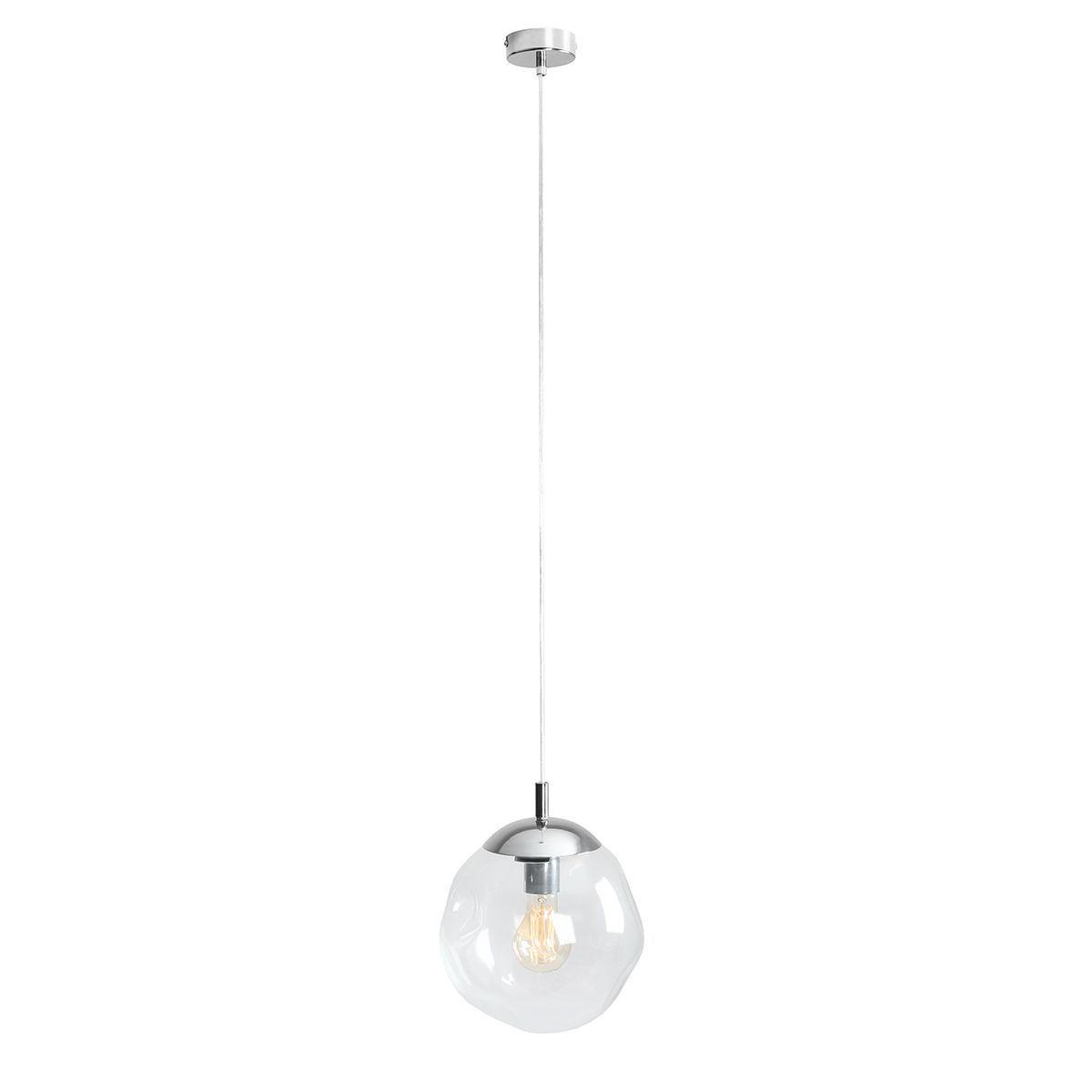 Lampa wisząca Aldex x1 Amalfi 25 cm Transparentny 1035G/S
