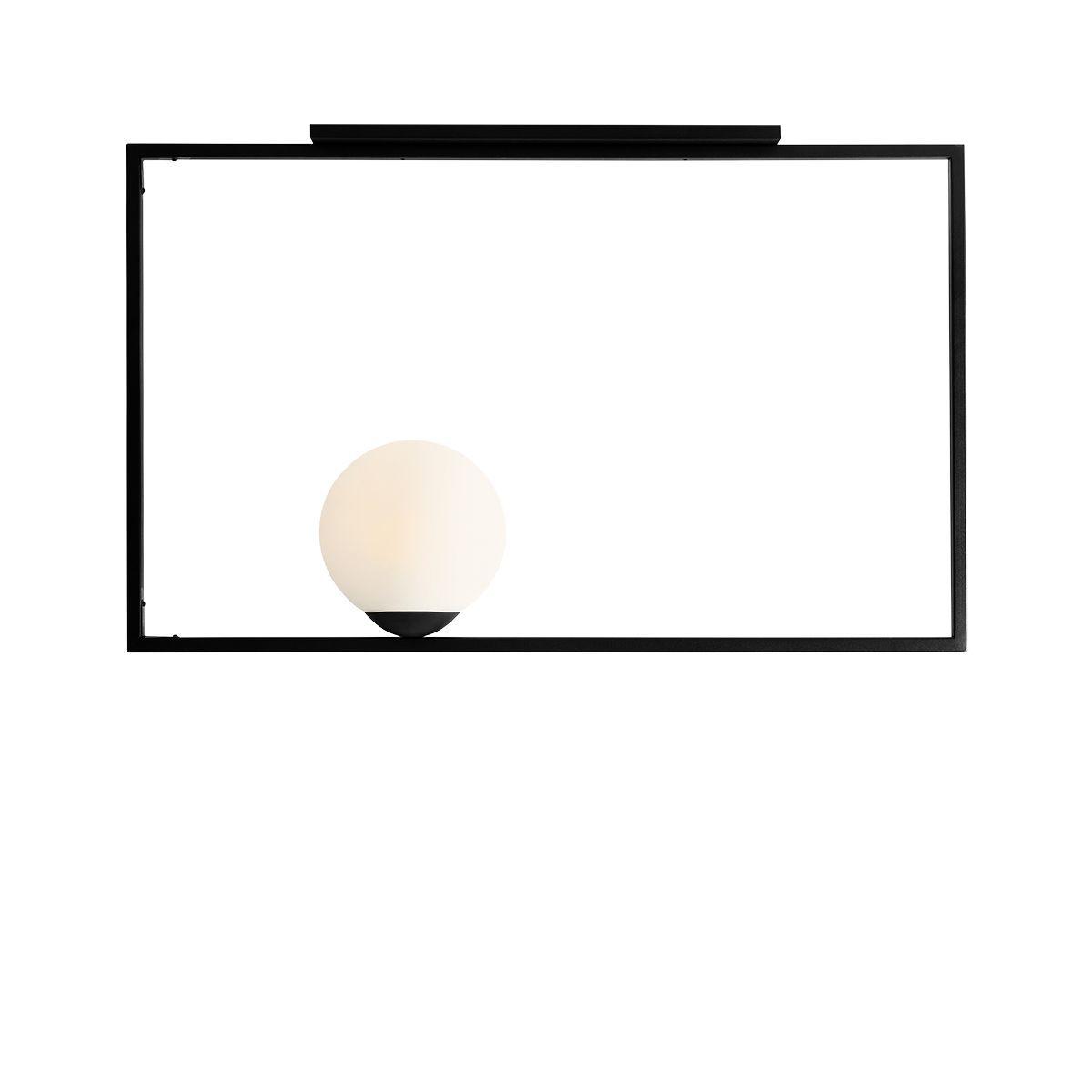 Plafon Aldex x1 Frame Black Pozioma Rama 1041PL/G1