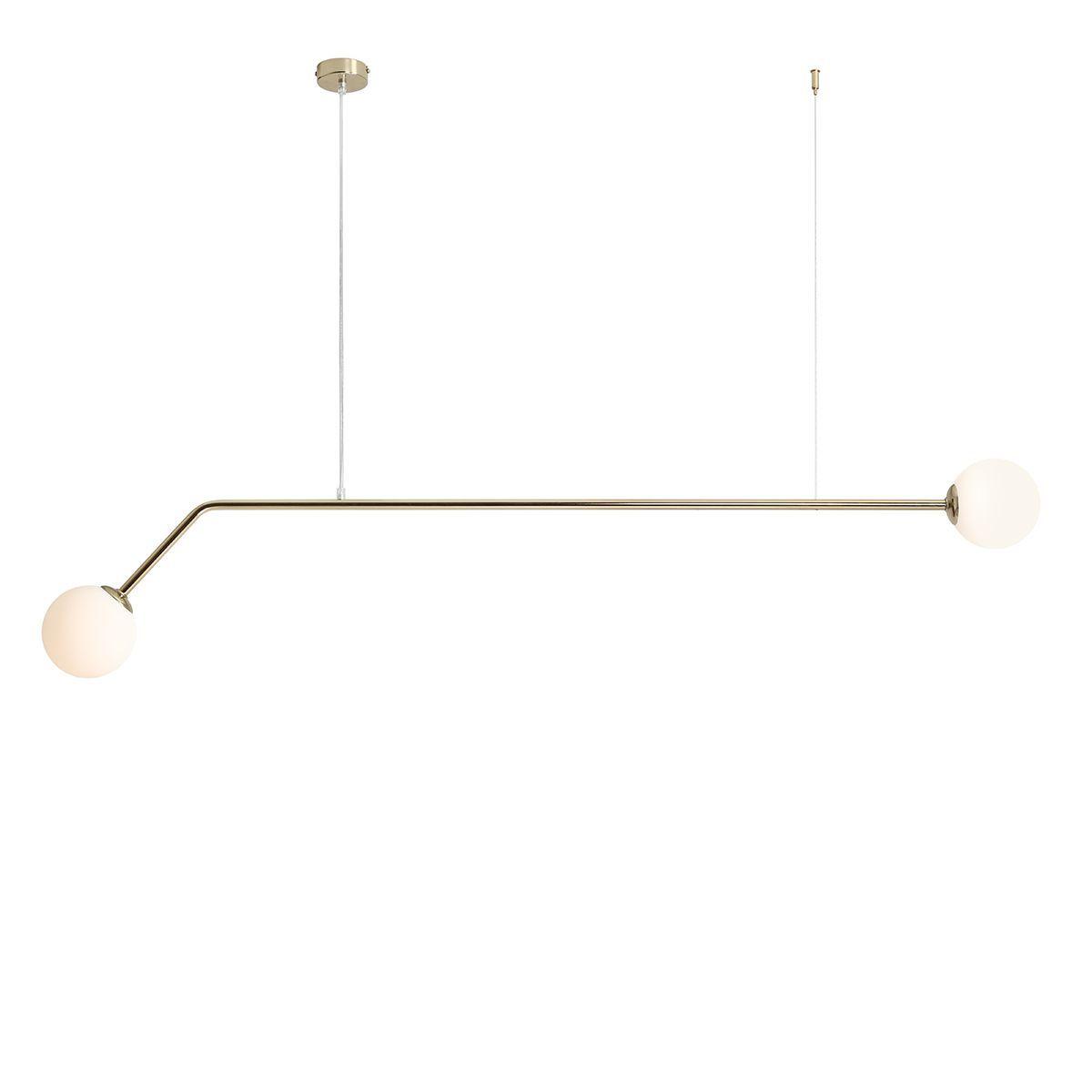 Lampa wisząca Aldex x2 Pure Gold 1064H30