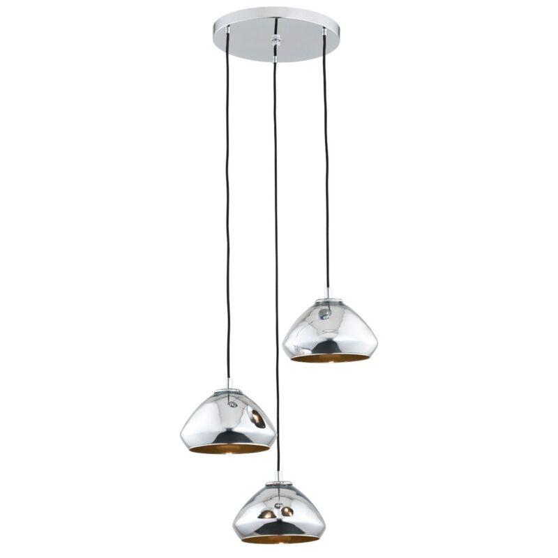 Lampa wisząca Argon Haiti chrom 1339 x3