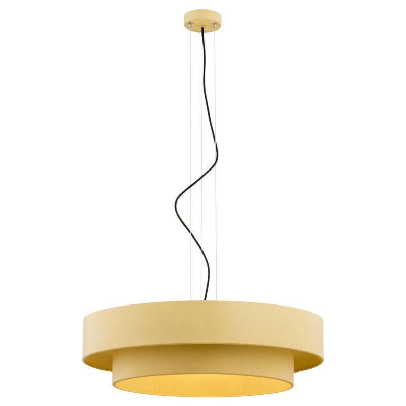 Lampa wisząca Argon Foxy złoty 1423 x3 większa