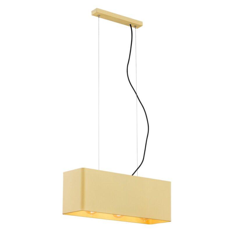 Lampa wisząca Argon Teneryfa złoty 1426 x3