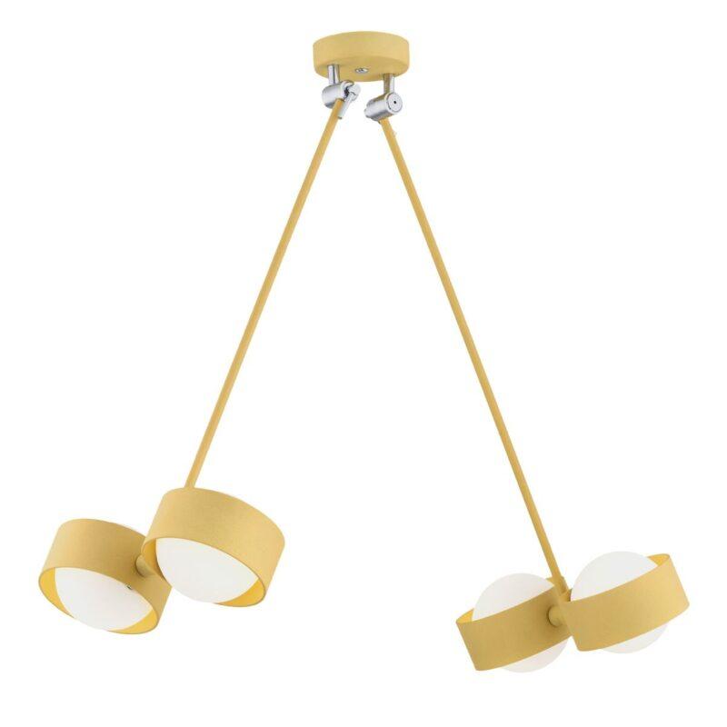 Lampa wisząca LED Argon Massimo złoty 1677 x4