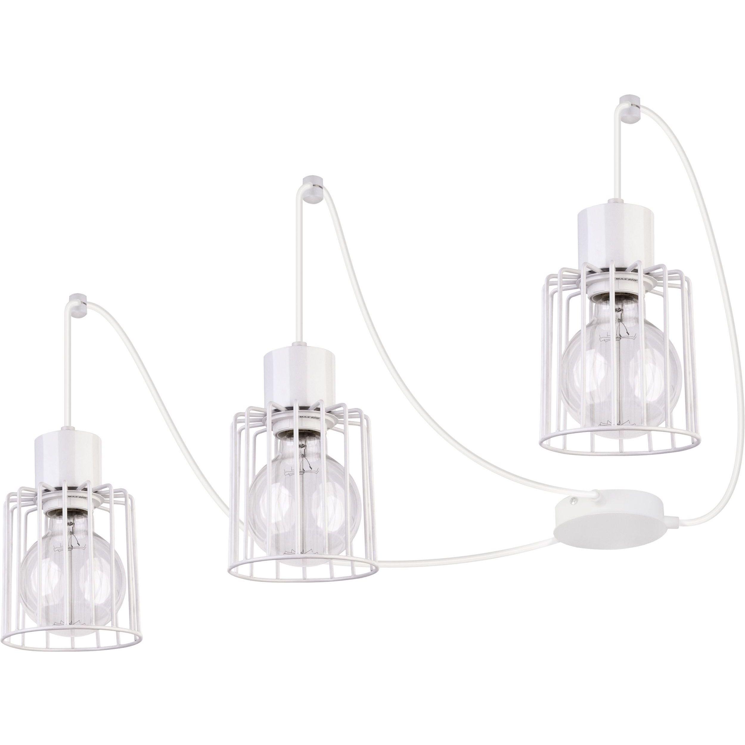 Lampa podwieszana Sigma Luto Kwadrat x3 Biały