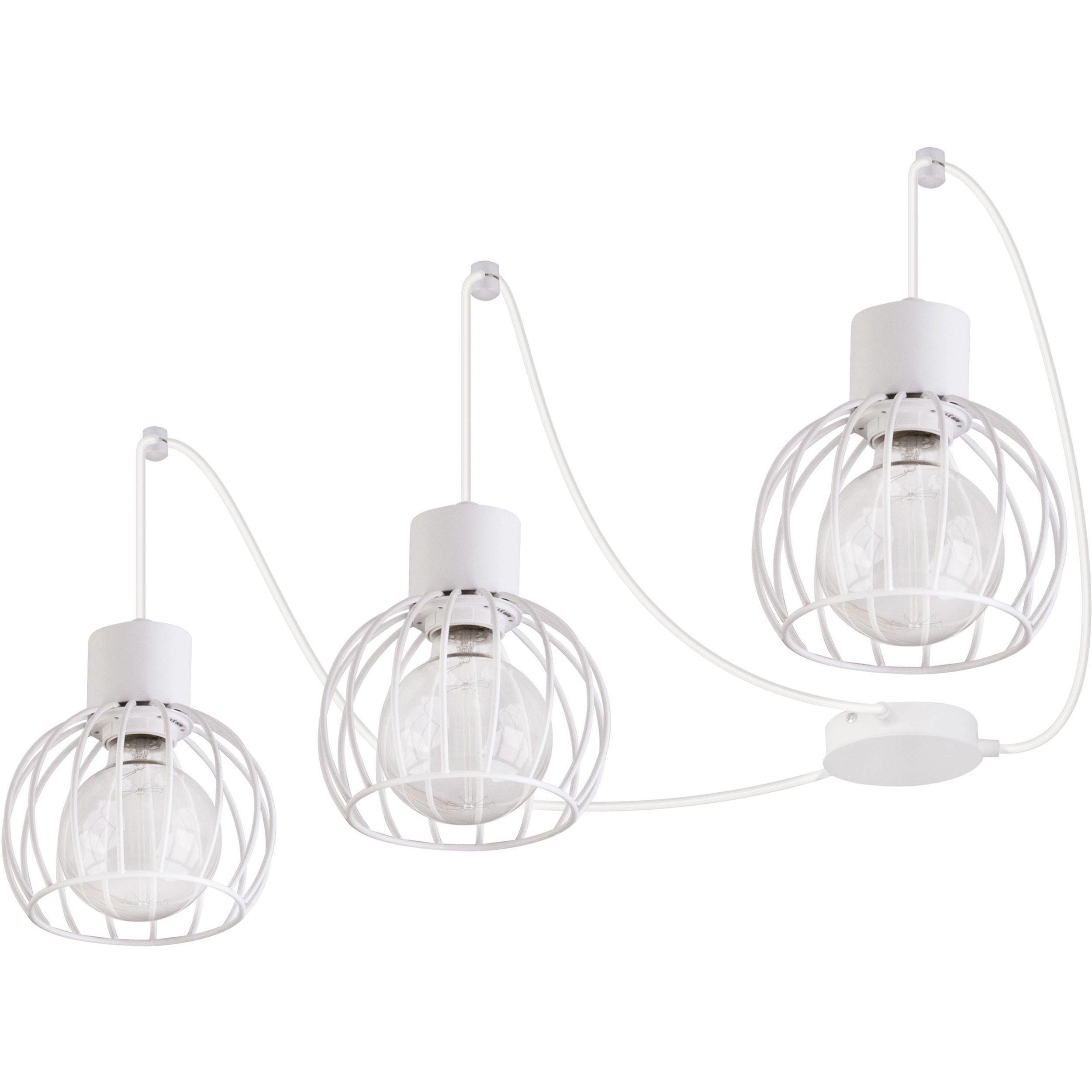 Lampa podwieszana Sigma Luto Koło x3 Biały Mat