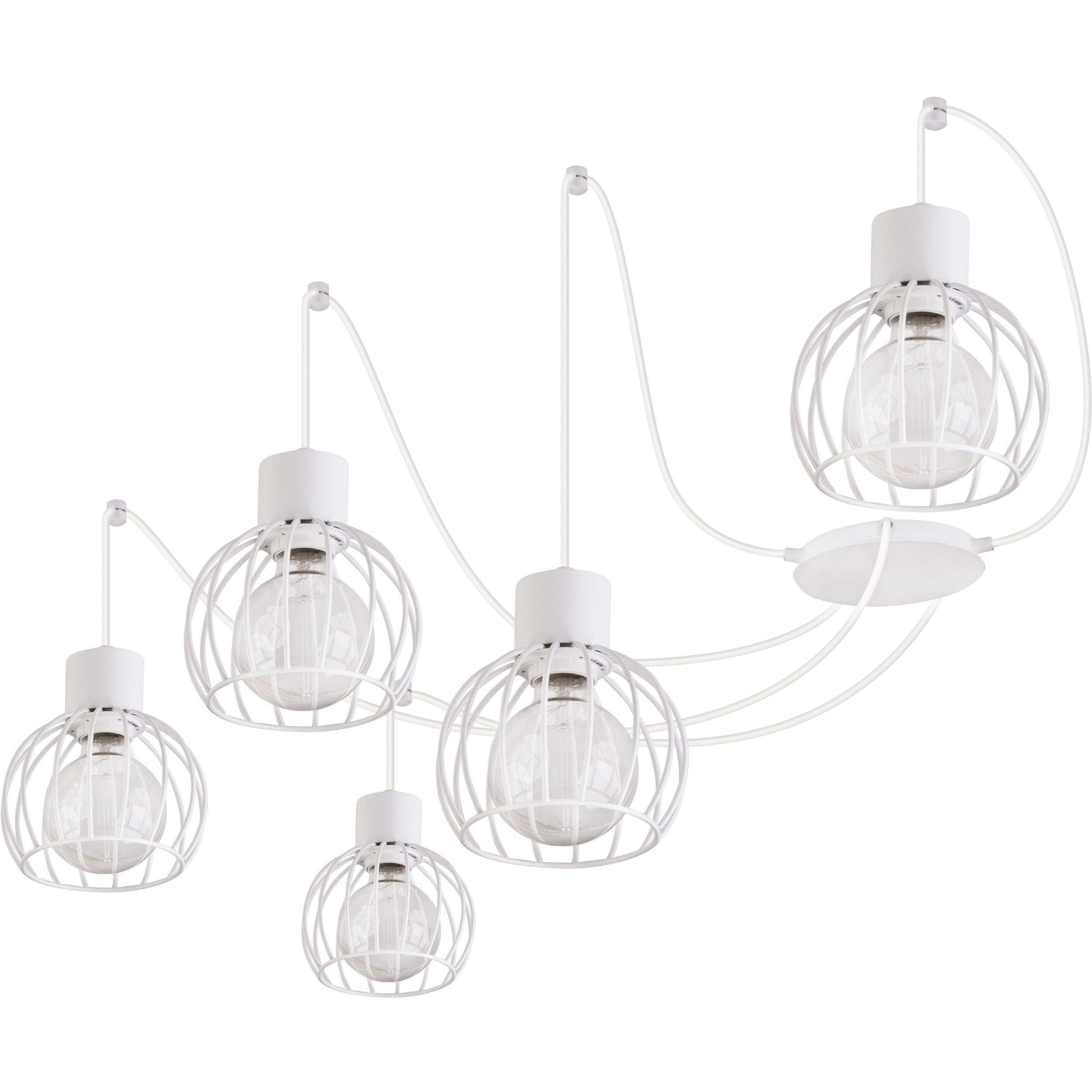 Lampa podwieszana Sigma Luto Koło x5 Biały Mat