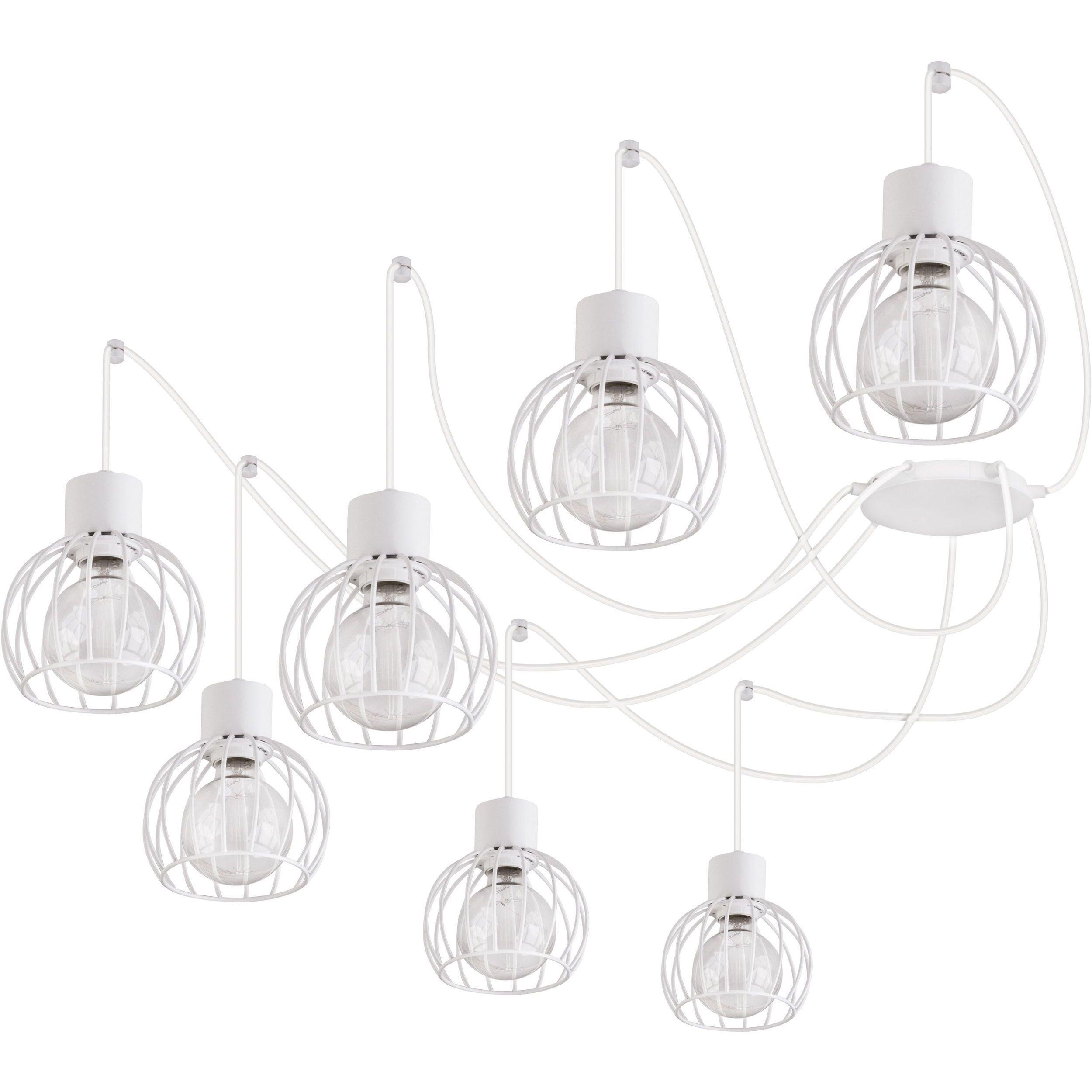 Lampa podwieszana Sigma Luto Koło x7 Biały Mat