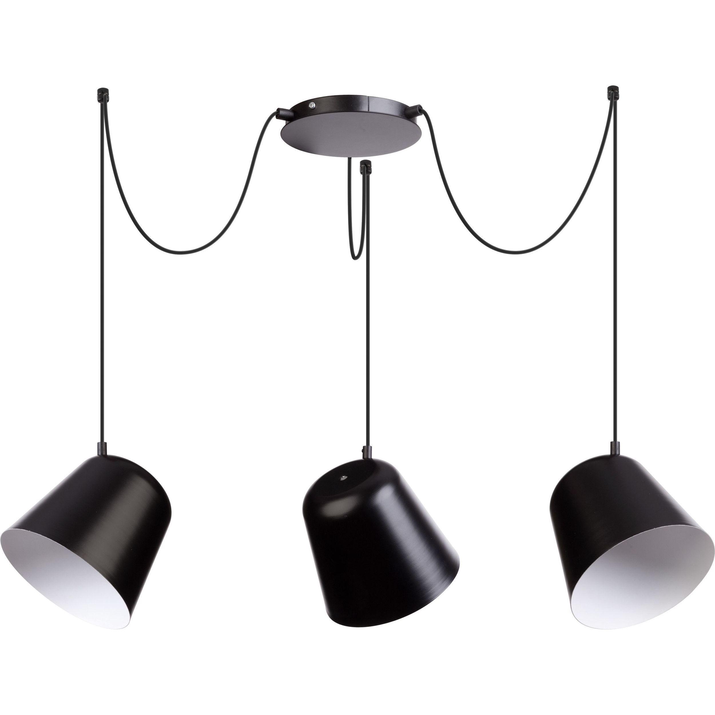 Lampa podwieszana Sigma Jawa x3 Czarny