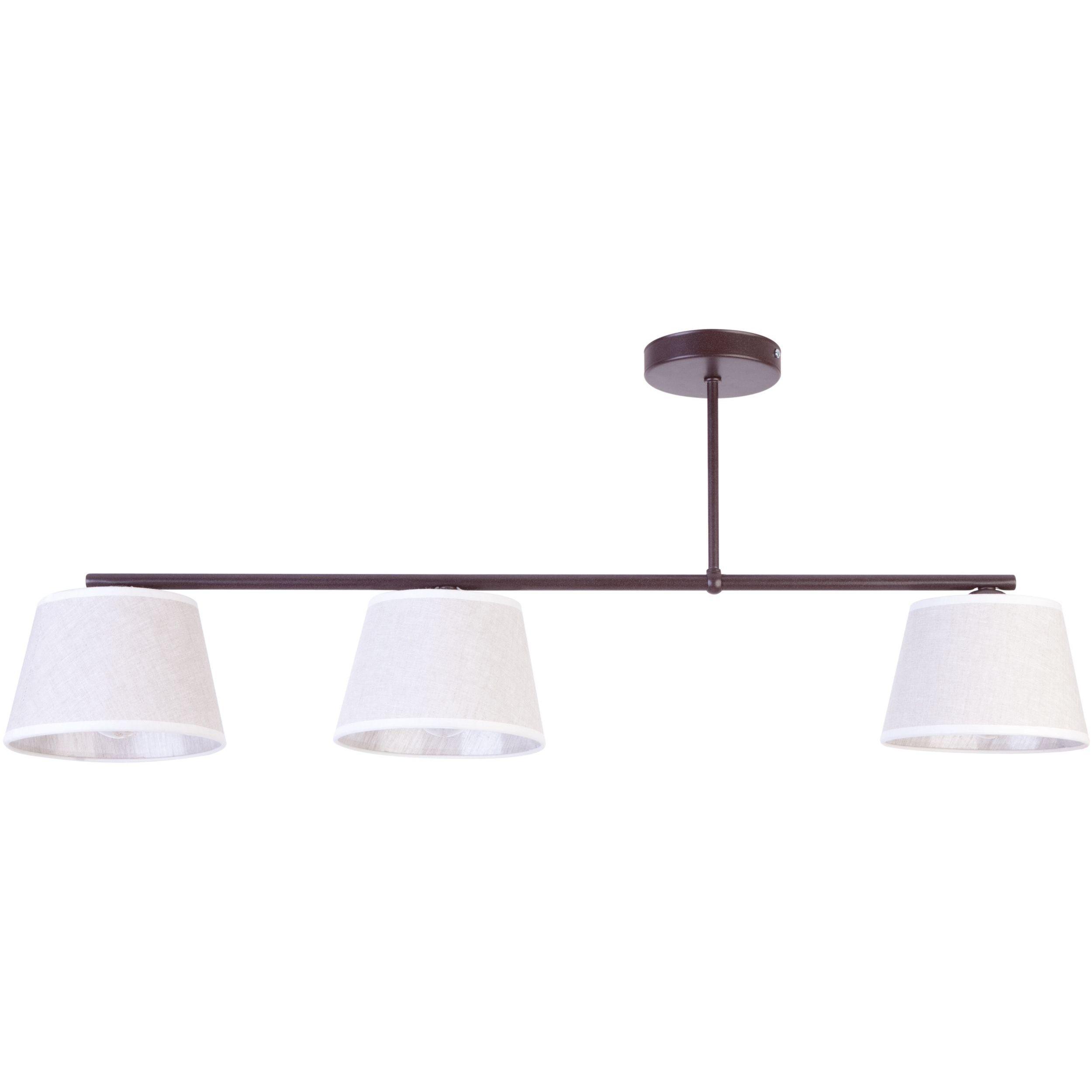 Lampa sufitowa Sigma Febe x3 Brąz