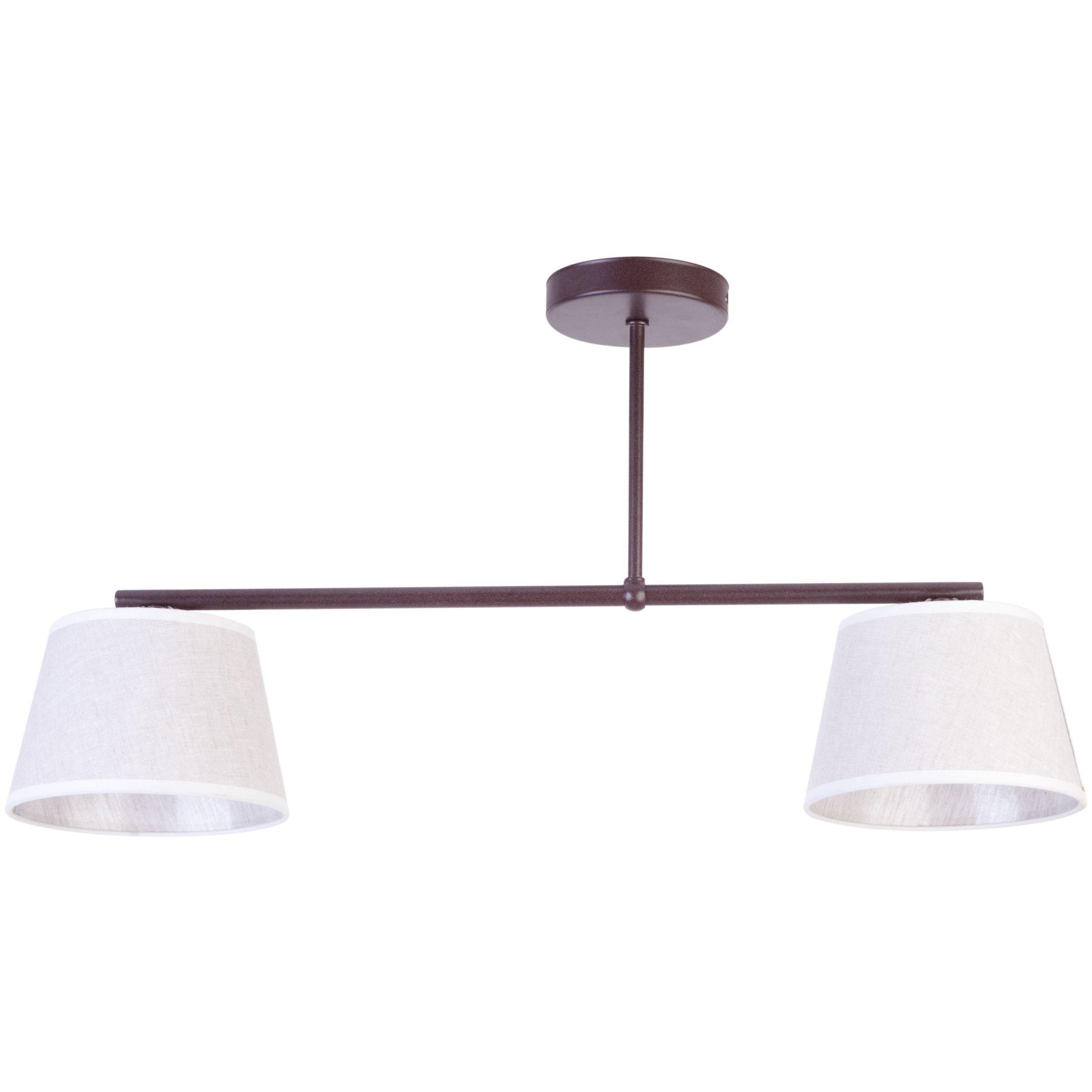 Lampa sufitowa Sigma Febe x2 Brąz