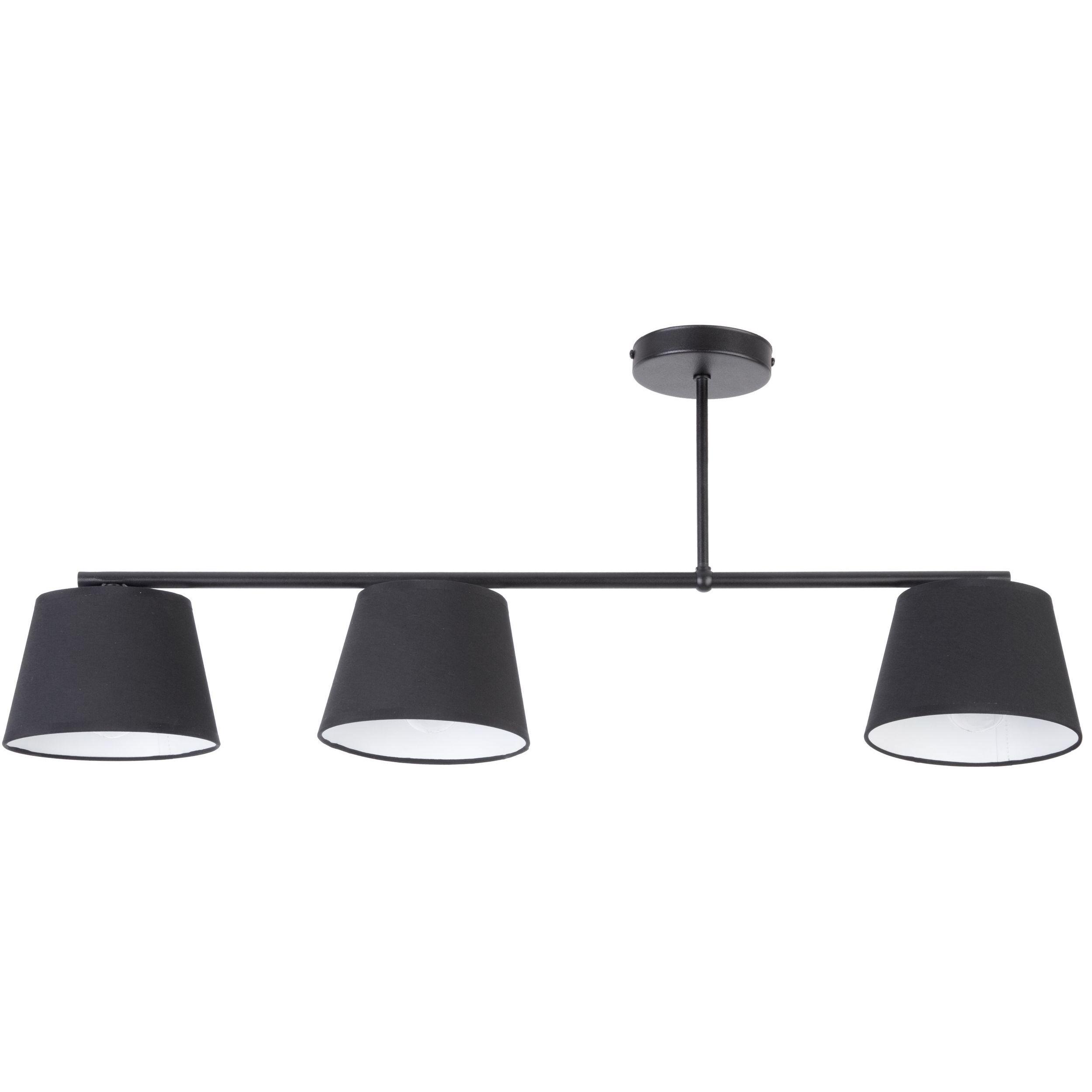 Lampa sufitowa Sigma Febe x3 Czarny