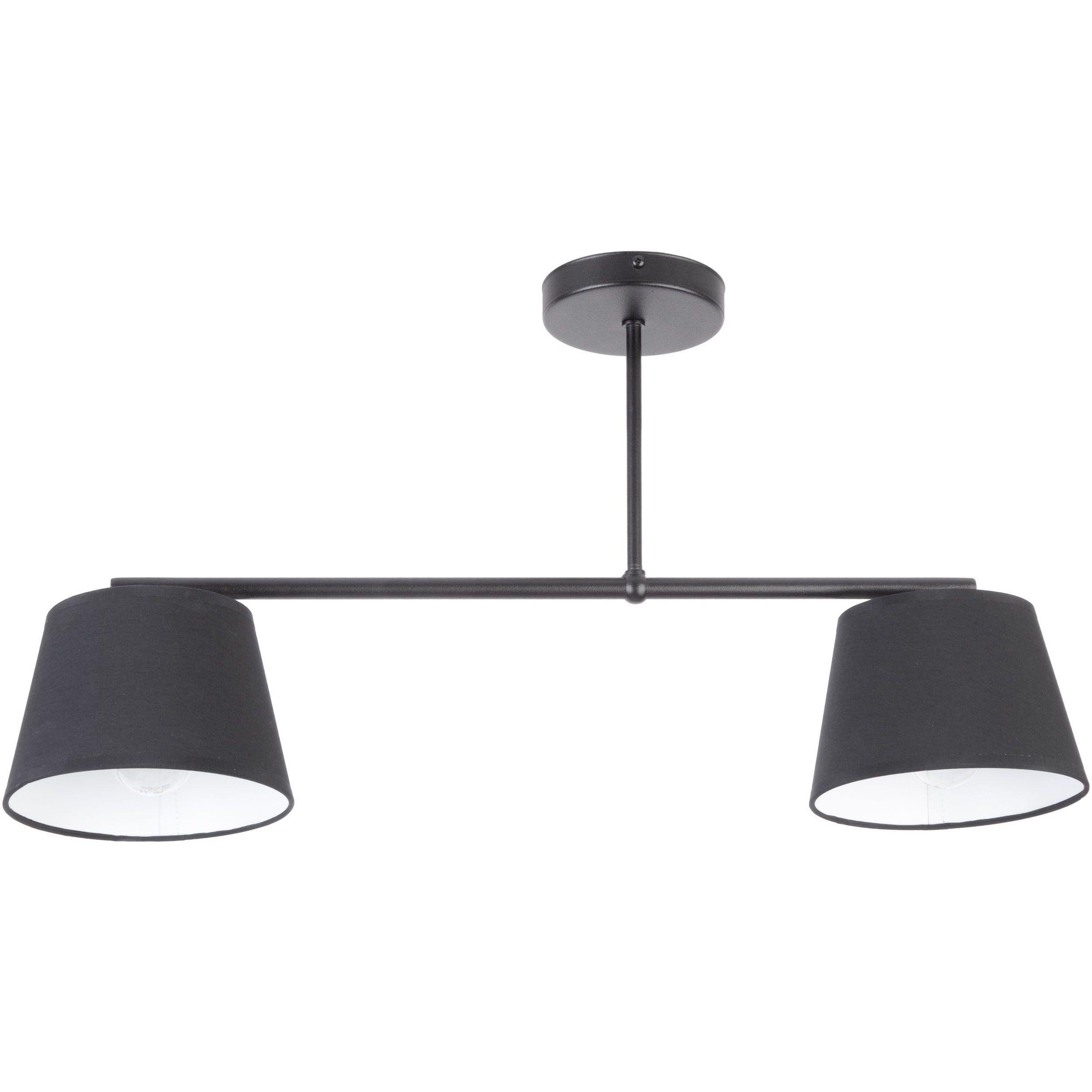 Lampa sufitowa Sigma Febe x2 Czarny