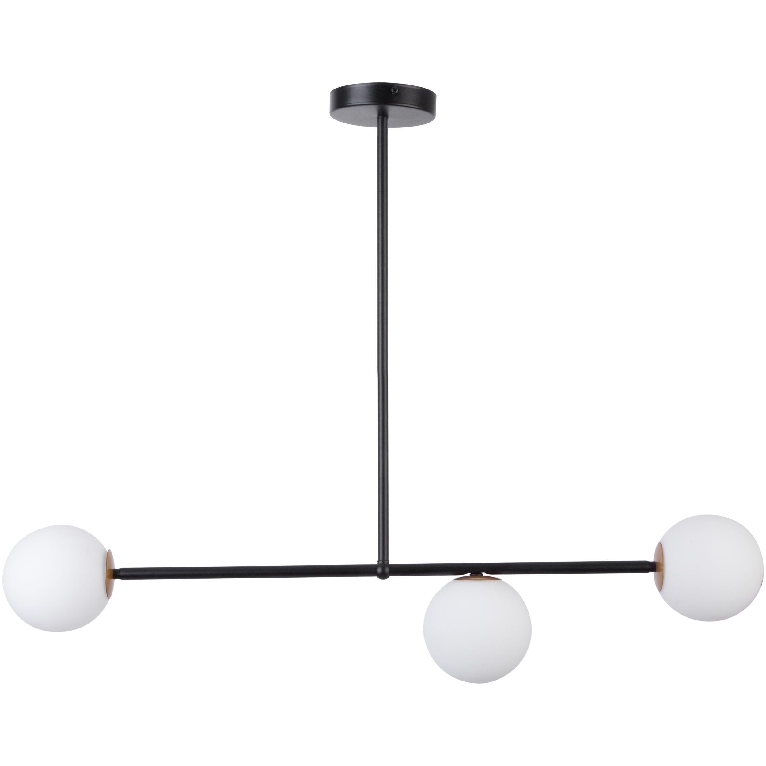 Lampa sufitowa Sigma Gama x3 Czarny