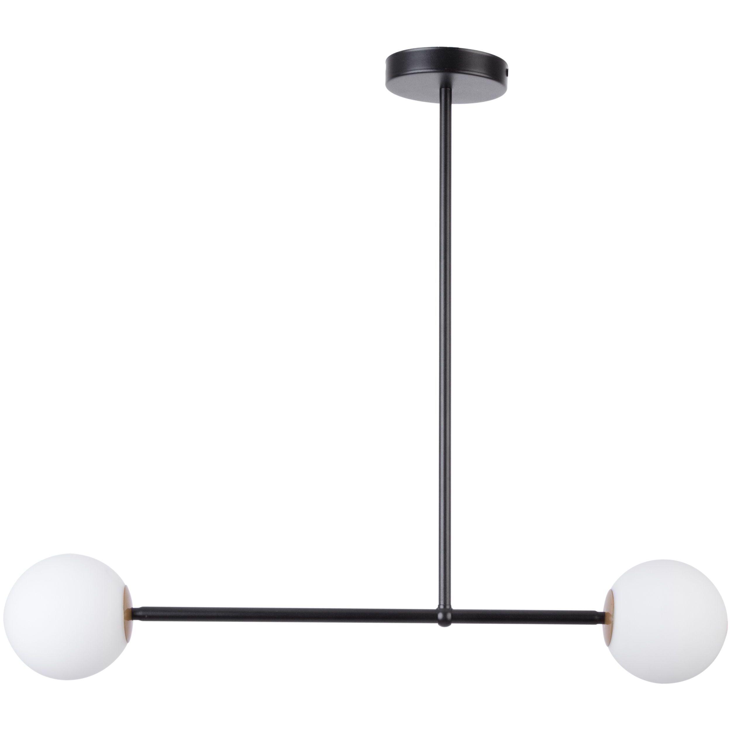 Lampa sufitowa Sigma Gama x2 Czarny
