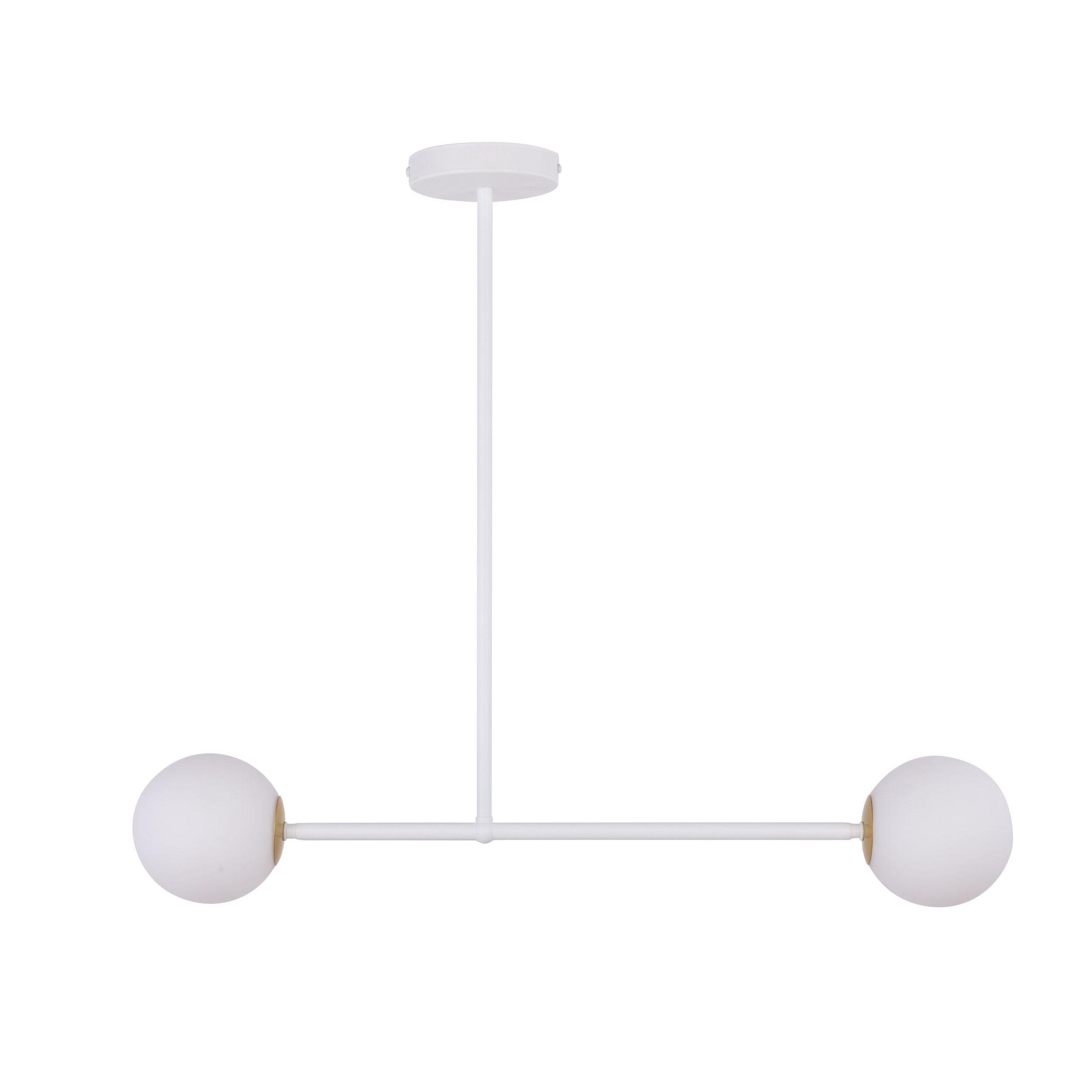 Lampa sufitowa Sigma Gama x2 Biały