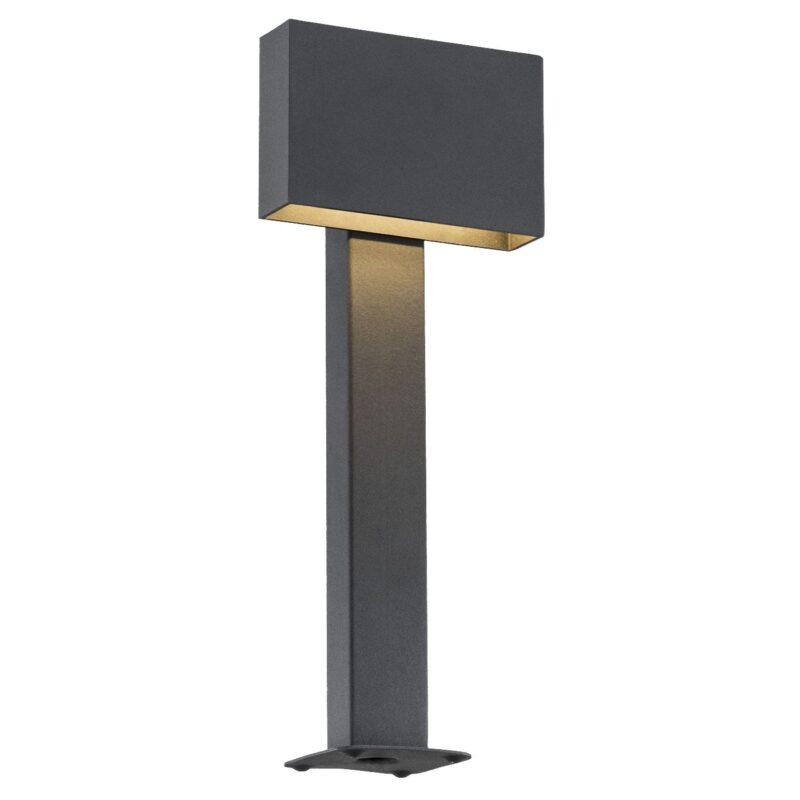 Lampa ogrodowa LED stojąca Argon Rialto czarny 3917 x1 mała