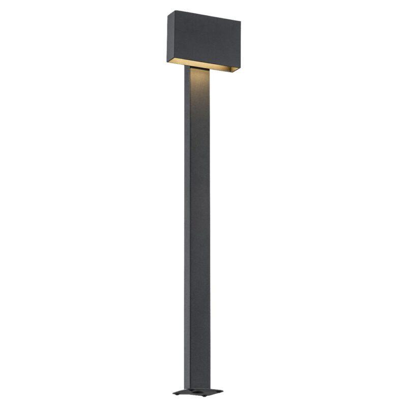 Lampa ogrodowa LED stojąca Argon Rialto czarny 3918 x1 duża