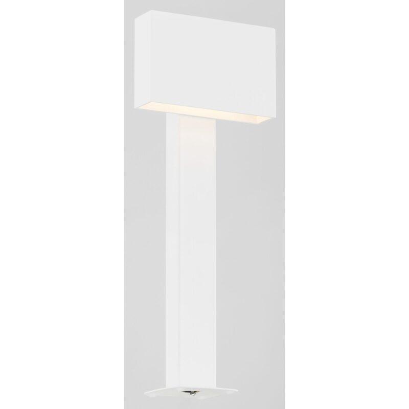 Lampa ogrodowa LED stojąca Argon Rialto biały 3920 x1 mała
