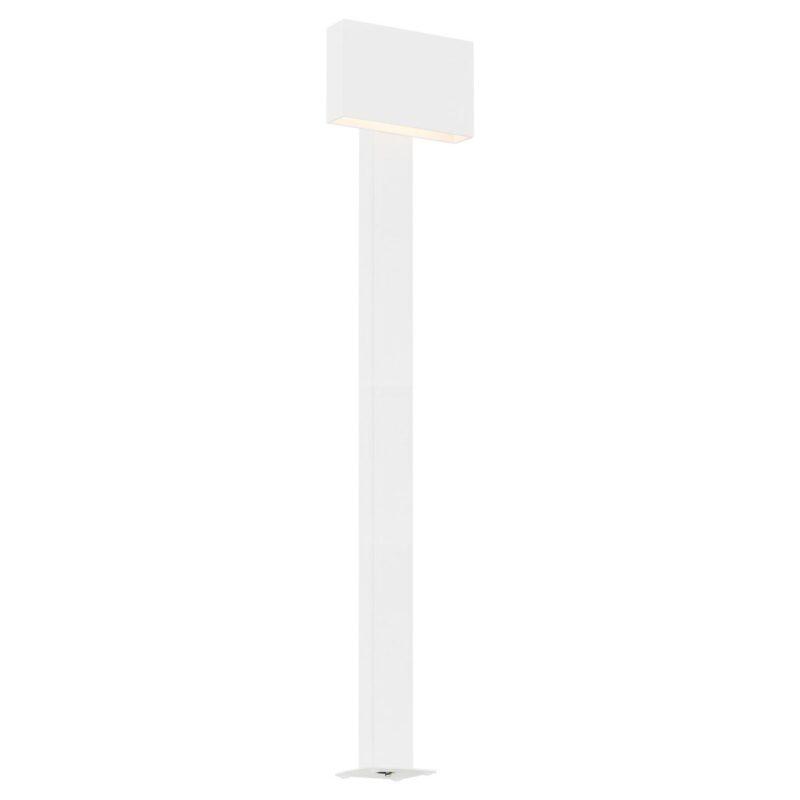 Lampa ogrodowa LED stojąca Argon Rialto biały 3921 x1 duża