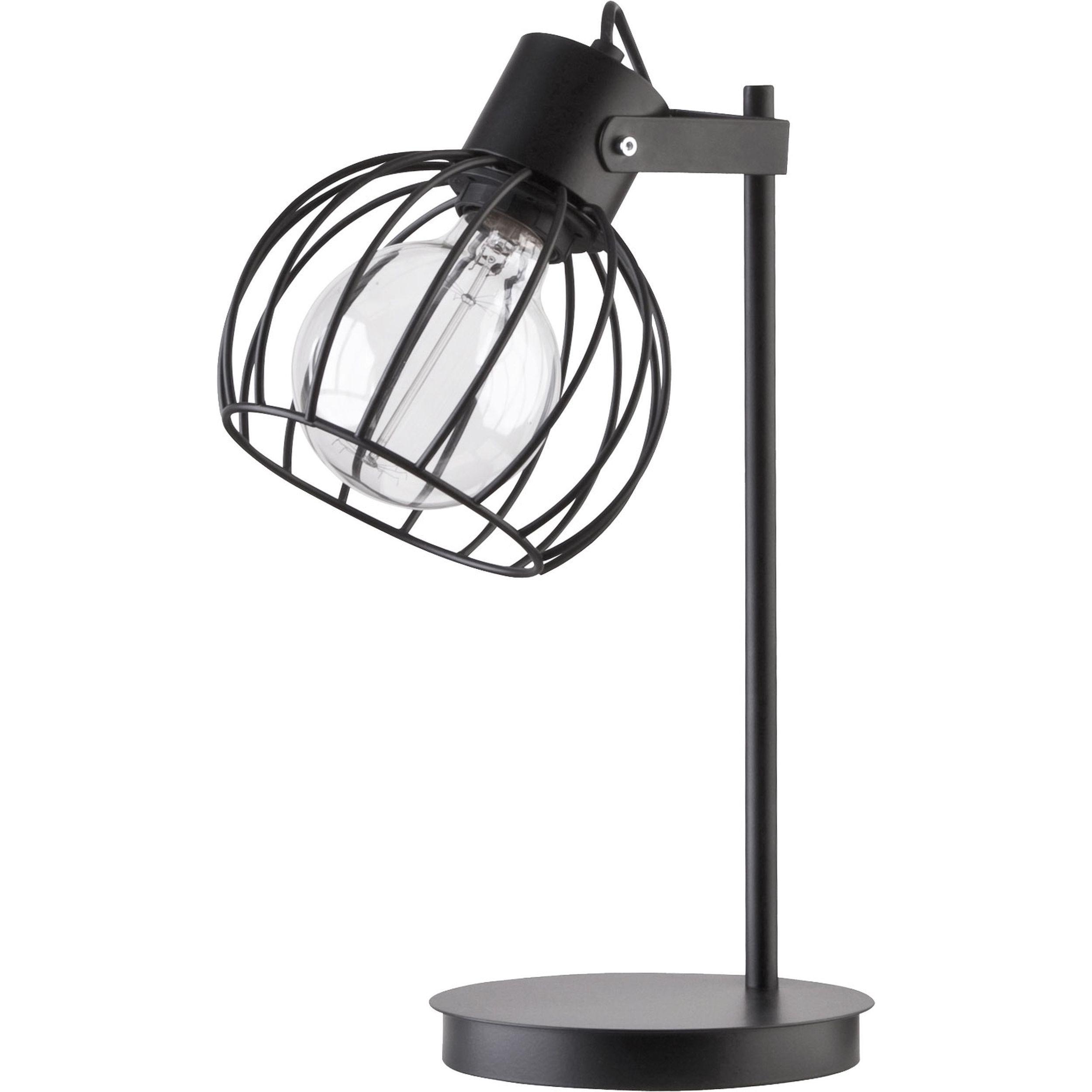 Lampa podwieszana Sigma Luto Koło Lampka Czarny Mat