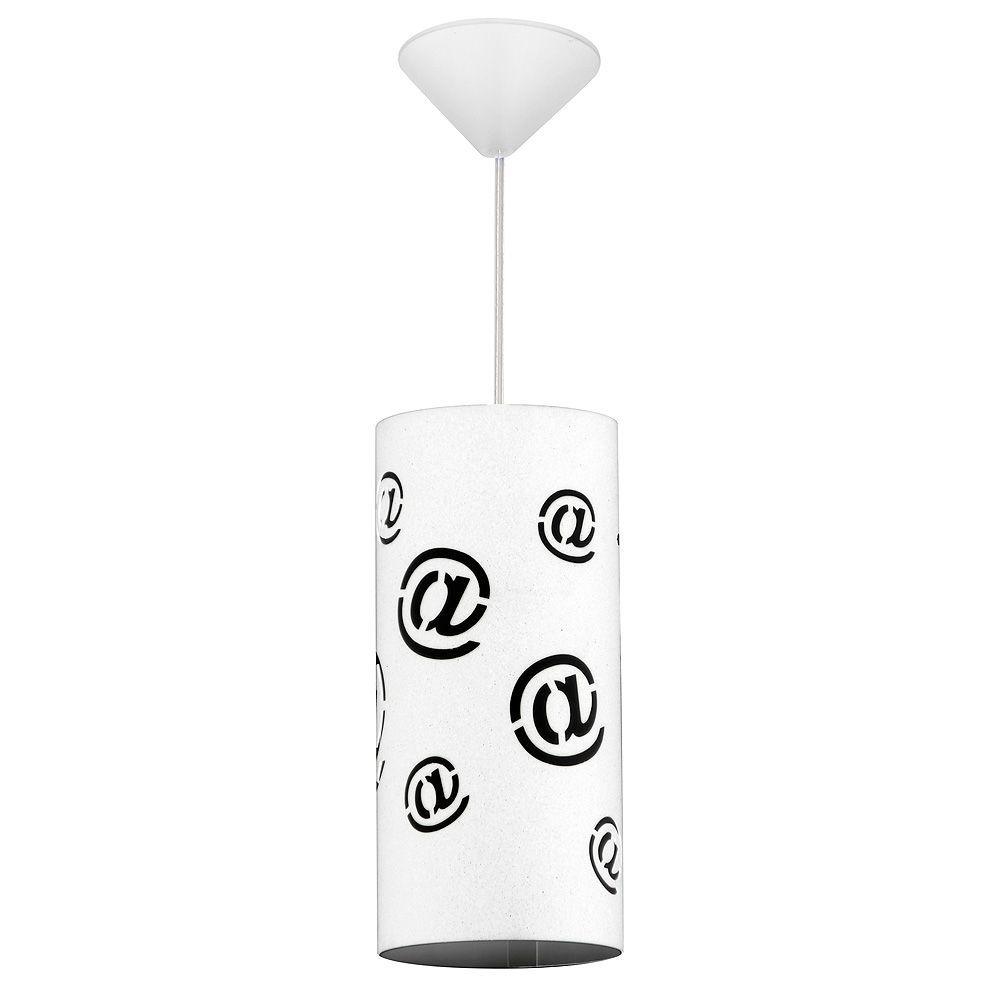 Lampa wisząca Aldex Pojedynczy Mail White Mały 703G/M