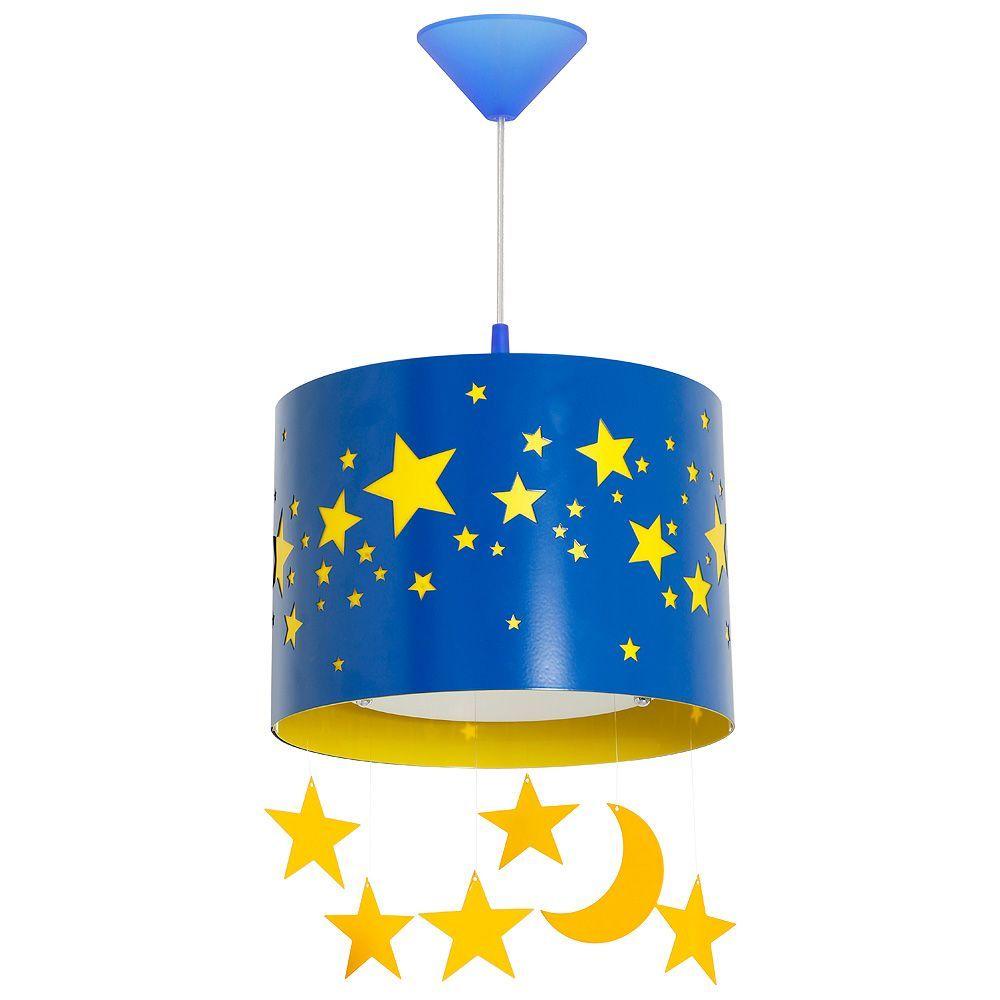 Lampa wisząca Aldex Pojedynczy x1 Gwiazdy Duży-Blue 710G/11/D