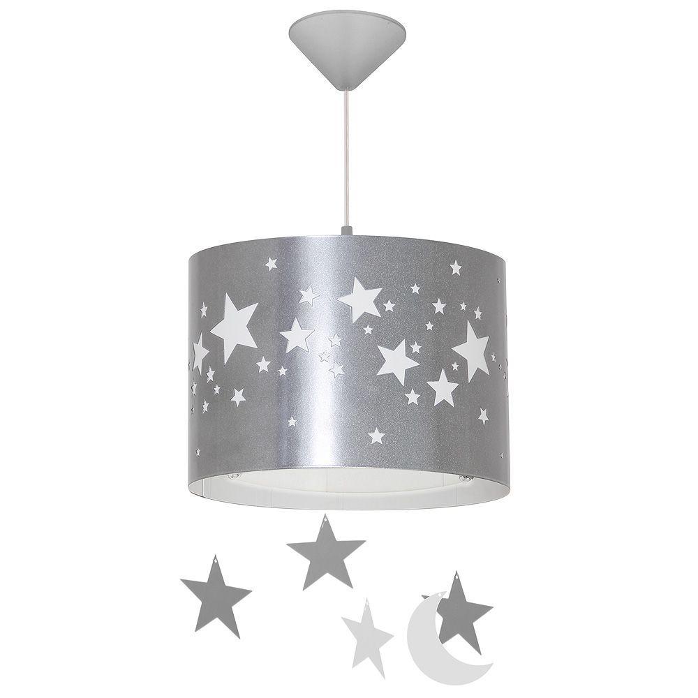 Lampa wisząca Aldex Pojedynczy Gwiazdy Duży-Silver 710G/3/D