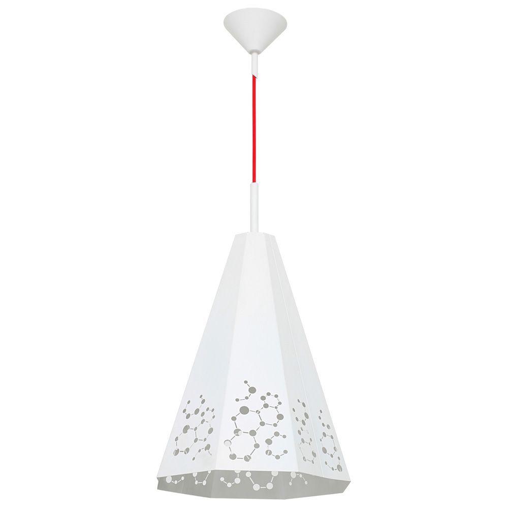 Lampa wisząca Aldex x1 Atom Duży White 767G/D