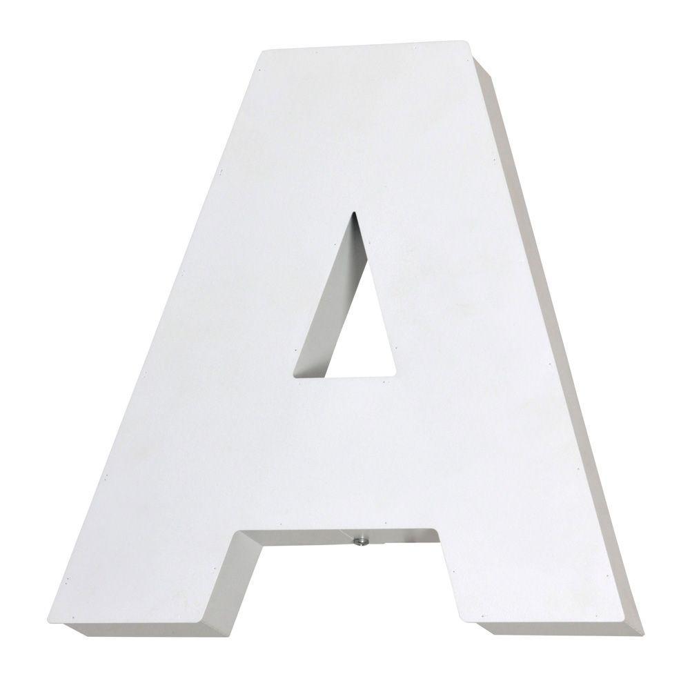 Kinkiet Aldex Literka A White 797S/A