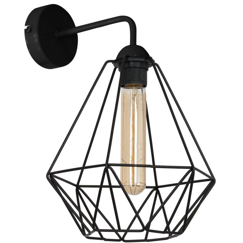 Kinkiet Luminex Basket New black x1