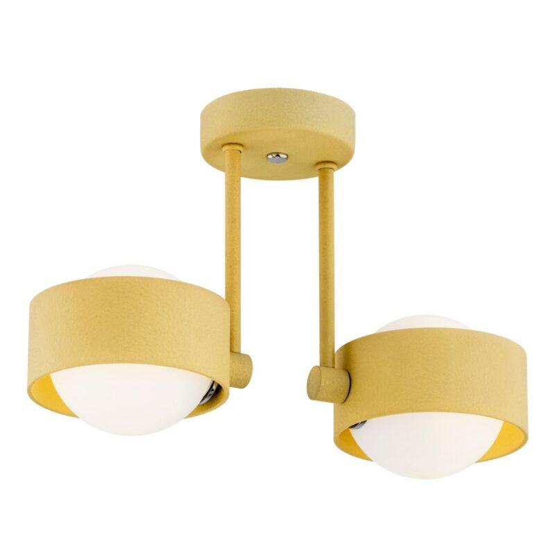 Lampa wisząca LED Argon Massimo złoty 849 x2