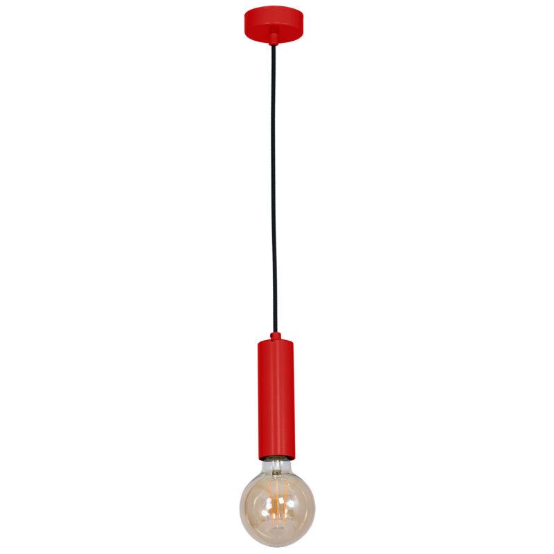 Żyrandol Luminex Tubes red x1