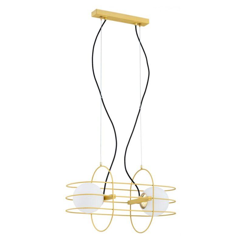 Lampa wisząca Argon Rossano złoty 852 x2