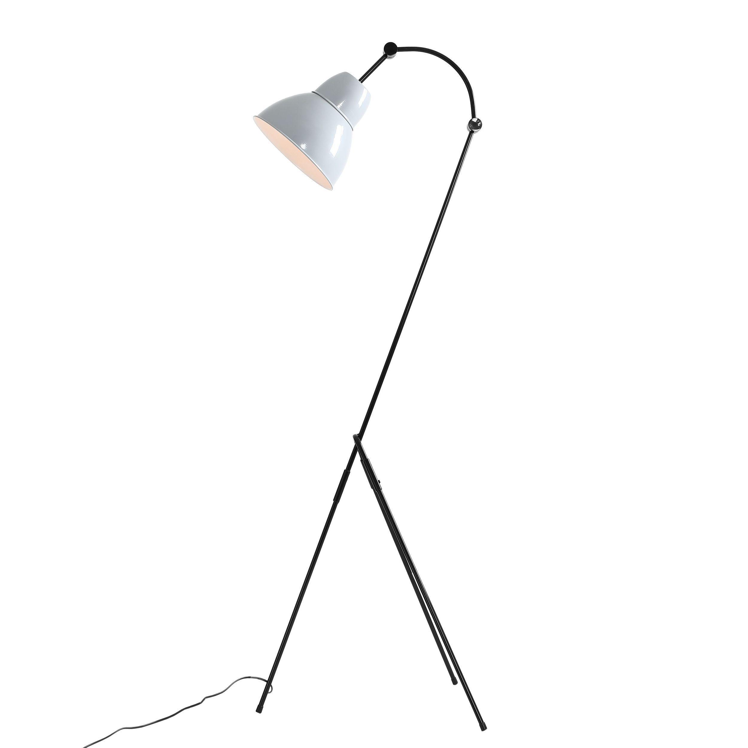 Lampa podłogowa Aldex Inka Latte Grey 875A17