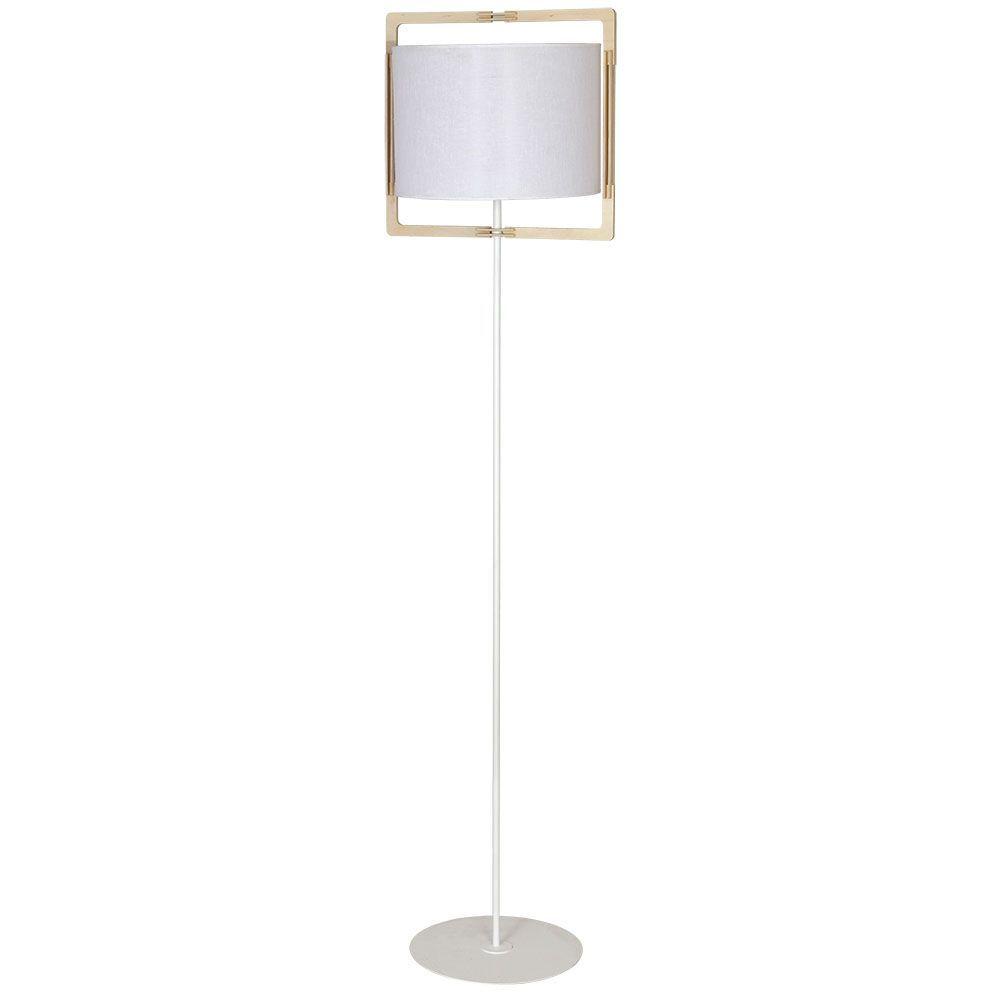 Lampa podłogowa Aldex Loki White 881A