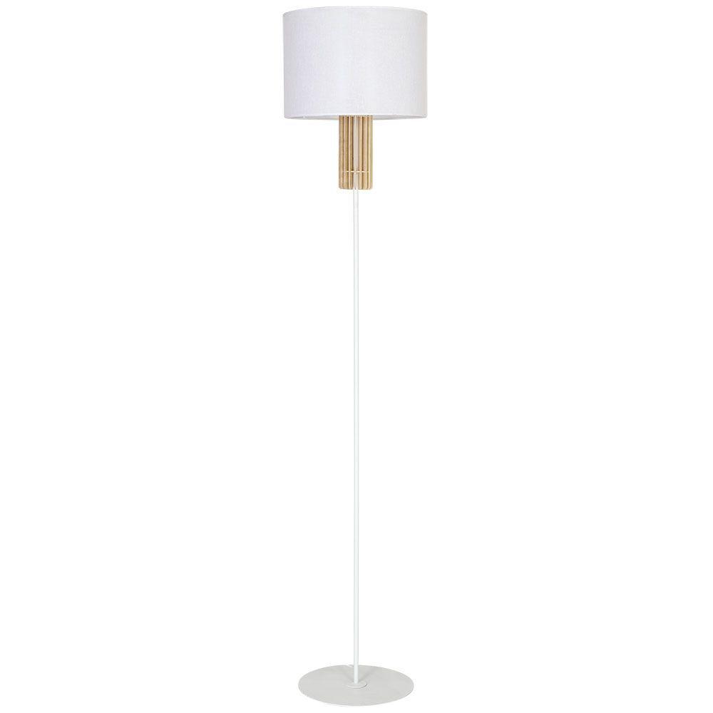 Lampa podłogowa Aldex Castro White 903A