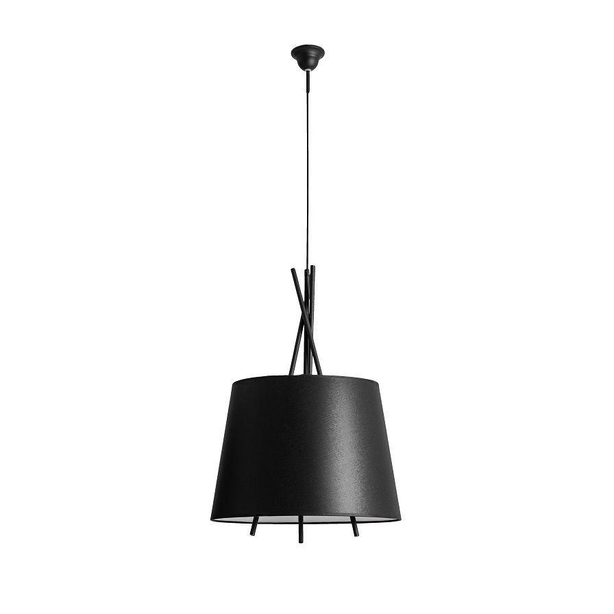 Lampa wisząca Aldex x1 Martin Black 957G1